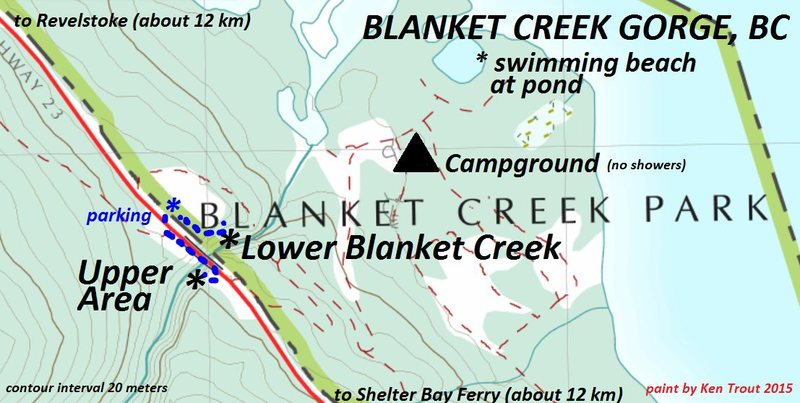 Rock Climbing Photo: Blanket Creek Sport Climbing Area
