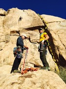 Rock Climbing Photo: Sheep Pass Campground behind site #3(?) up and ove...