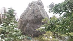 Rock Climbing Photo: Chapel Boulder