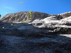 Rock Climbing Photo: From the base of Conejito.
