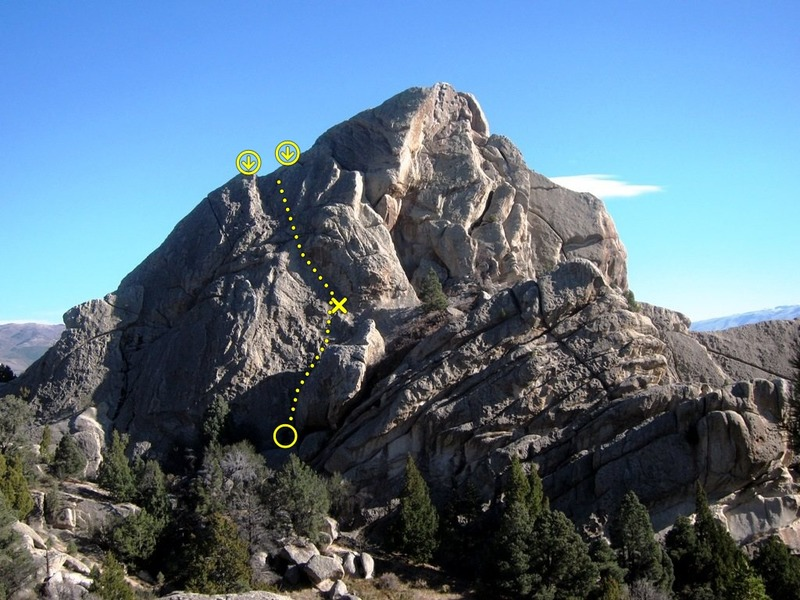 Rock Climbing Photo: Location of Poetry in Slow Motion