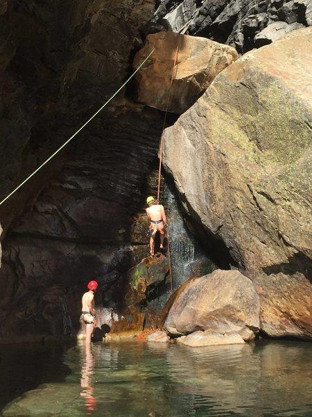 Rock Climbing Photo: Canyoneering