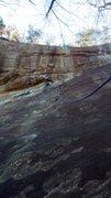 Rock Climbing Photo: A1A 5.10a