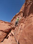 Rock Climbing Photo: John telling me I chose poorly!