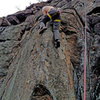 Brian Sundermann on first ascent of Rock Romancer