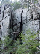 Rock Climbing Photo: Off-Width-er's Unite!  The far right side of  Ben ...