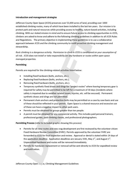 Draft JeffCo Climbing Management Guidelines P2