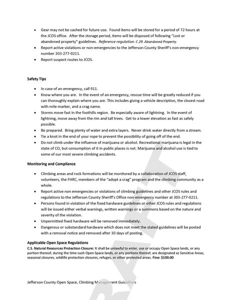 Draft JeffCo Climbing Management Guidelines P4