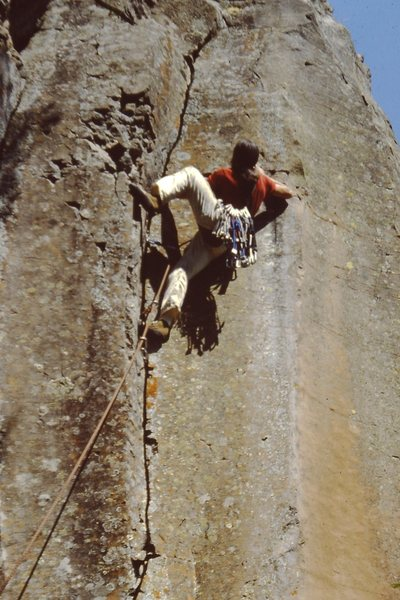 Rock Climbing Photo: I believe this might be the start to CrowsNest or ...