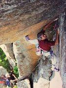 Rock Climbing Photo: My poor sternum