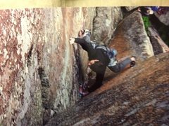 Rock Climbing Photo: Partner in Crime