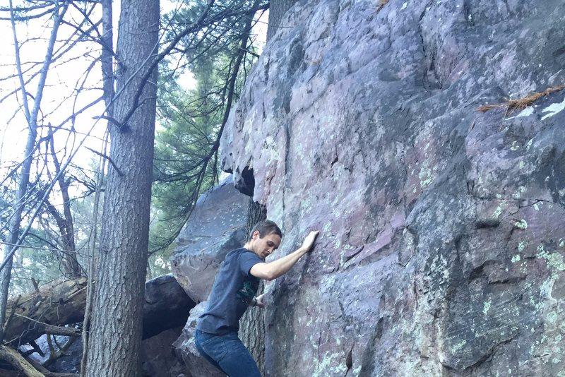 Rock Climbing Photo: up higher