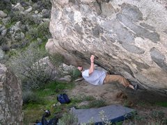 Rock Climbing Photo: Eric salazar on The Capstone Problem