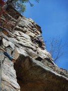 Rock Climbing Photo: Jeff getting some!!