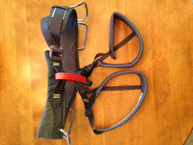 harness, size large