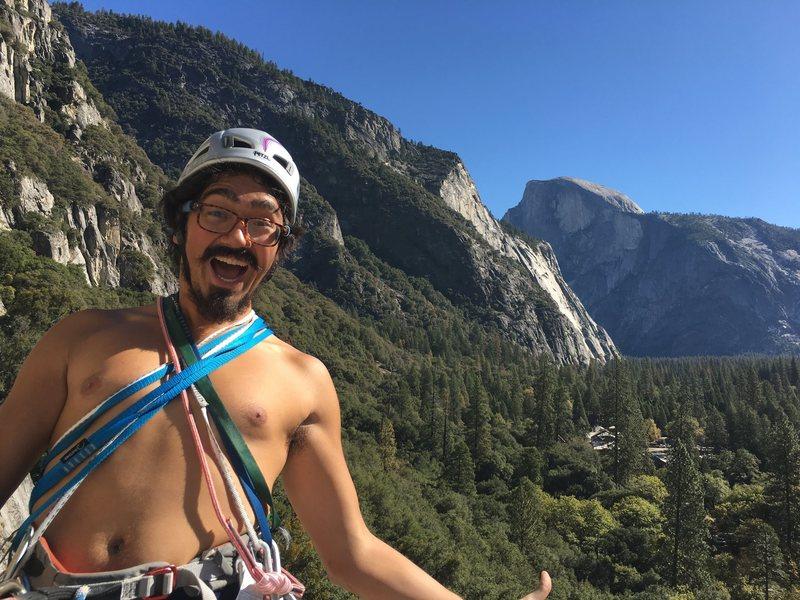 Rock Climbing Photo: Top of jam