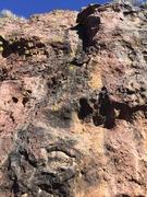 Rock Climbing Photo: Looking up Wonder Showzen