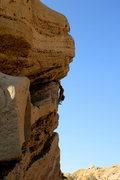"Rock Climbing Photo: (Me) Up high saying to my self, "" I wonder wh..."