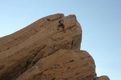 Rock Climbing Photo: Outta the pumpy Woods