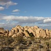 The south side of Grain Central Station, Joshua Tree NP<br> <br> A. Snoops (5.6)<br> B. Mother of All Poodles (5.8)<br> C. Zinging in the Grain (5.8)