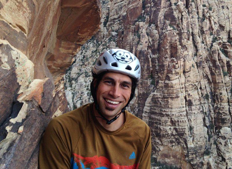 Rock climbing is kinda fun