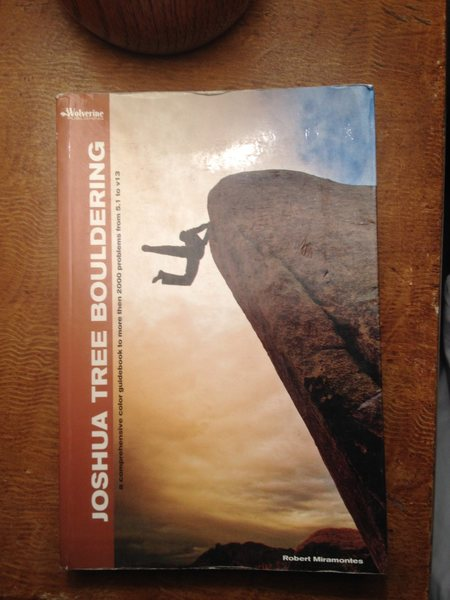 2012 Wolverine Publishing Joshua Tree Bouldering Guide