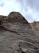 Rock Climbing Photo: In the business of Black Hole. Such a great route!