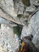 Rock Climbing Photo: Interesting movement, as usual.