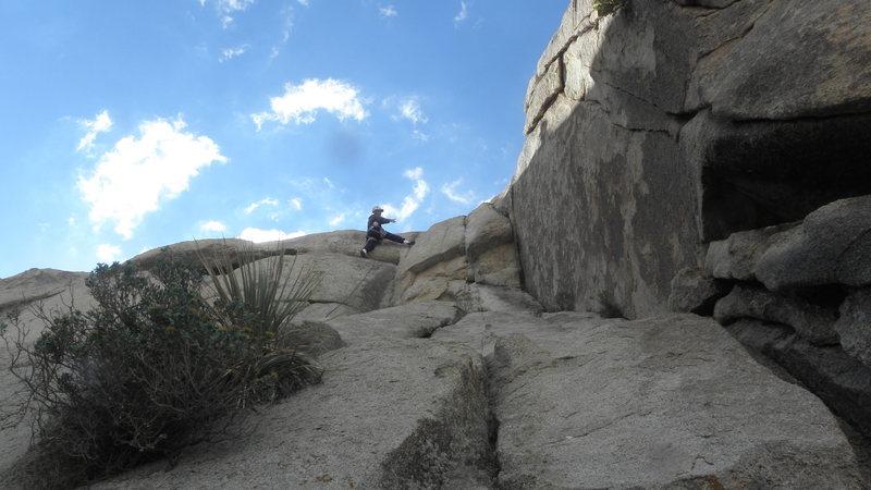 Rock Climbing Photo: jackpot