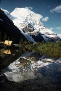 Rock Climbing Photo: Camp near Berg Lake Chalet 1950's  by Mountain Pro...