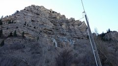 Rock Climbing Photo: Stairway, Nov 21, 9 AM