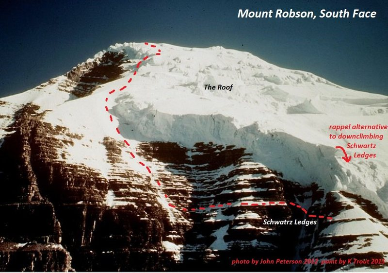 Upper South Face<br> <br> photo by Mountain Project contributor John Peterson 2012