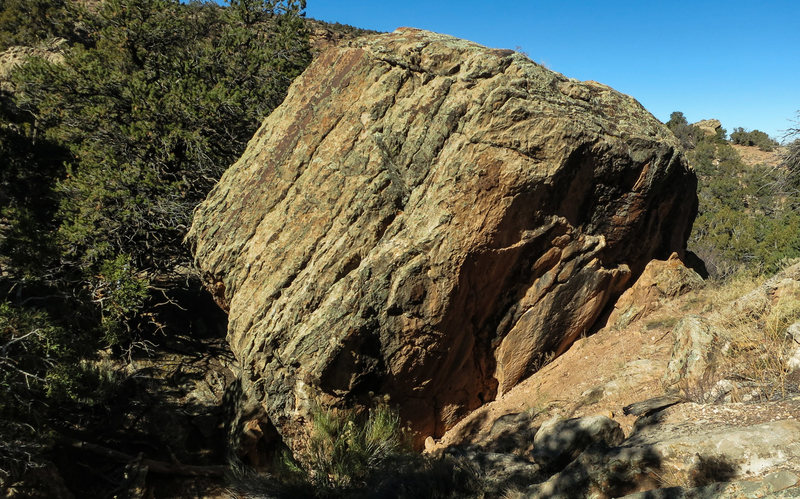 Rock Climbing Photo: Amharic Boulder.