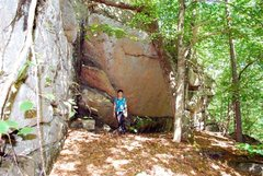 Rock Climbing Photo: Breakheart cliff