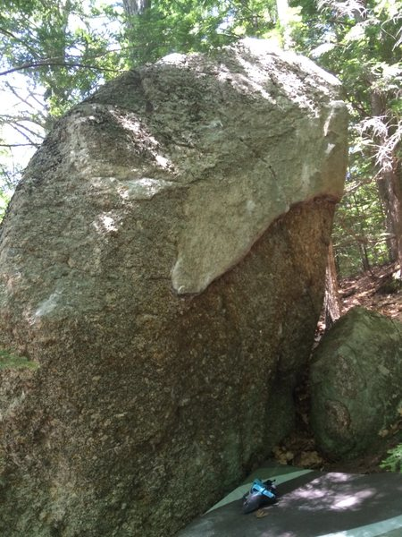 Rock Climbing Photo: The Oakledge Boulder