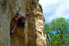 Rock Climbing Photo: Sepehr!