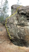 Rock Climbing Photo: Another view of Just in Case V4