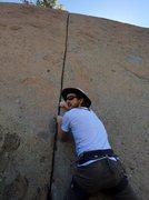 Rock Climbing Photo: you light!??!