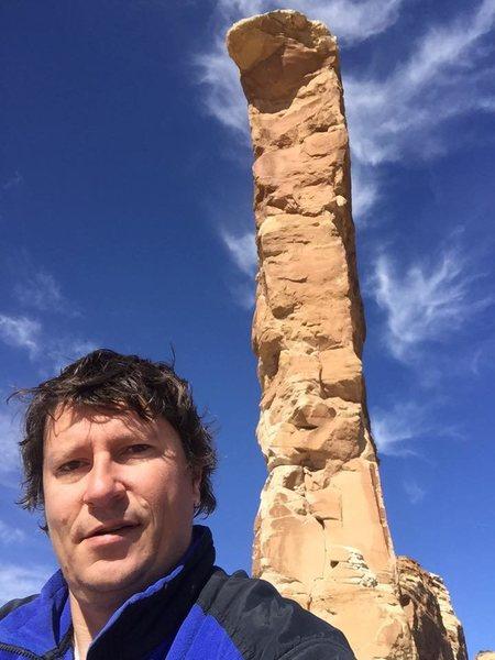 Rock Climbing Photo: Selfie at the base