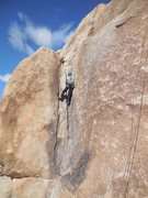 "Rock Climbing Photo: Climbing ""Short Crack."""