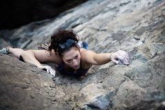 Rock Climbing Photo: Eye of the tiger