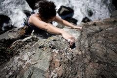 Rock Climbing Photo: Don't look down