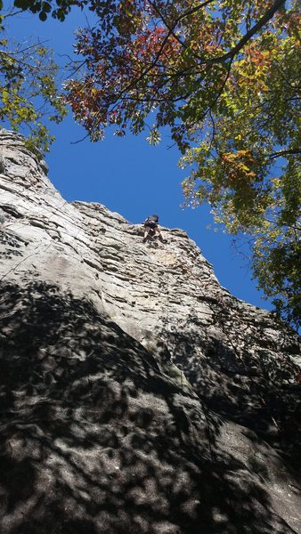 This route was my first outdoor Ascent!
