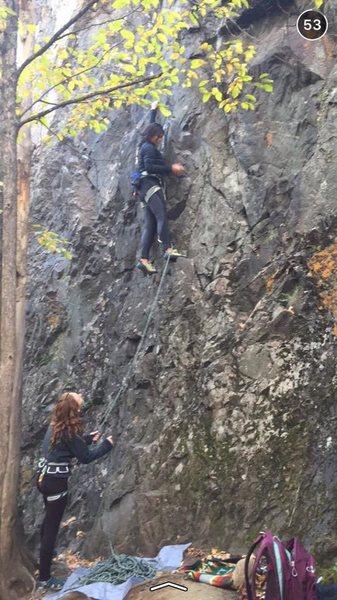 Rock Climbing Photo: GO ALEXA!!! pc-Lauren