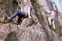 Rock Climbing Photo: the seat