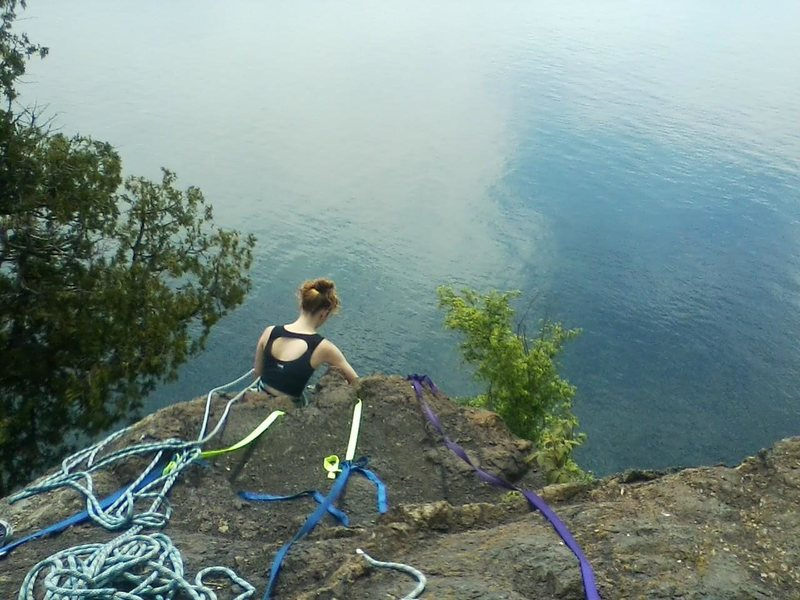 Rock Climbing Photo: The Pinnacle! great fun, and an even greater view.