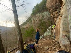 Rock Climbing Photo: in awe @ the Tennesee Wall..  before i even knew h...