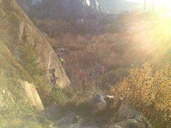 Rock Climbing Photo: Bangahs !!!