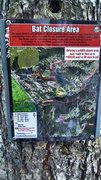 Rock Climbing Photo: Current closure signage (as of 11/23/15) on trail ...