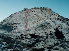 Rock Climbing Photo: December's Children III-IV 5.10 800'